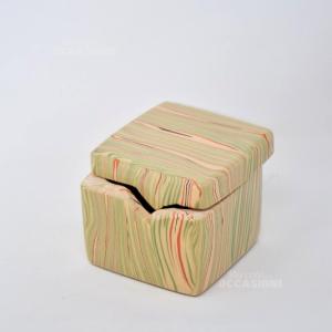 Vasetto Cubo Venezia Ceramica