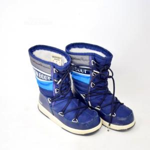 Doposci Moon Boot Blu N. 32