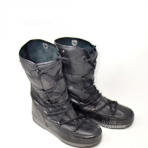 Doposci Pelle Moon Boot  N. 38
