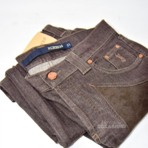 Pantaloni Uomo Jeckerson Tg31 Marroni