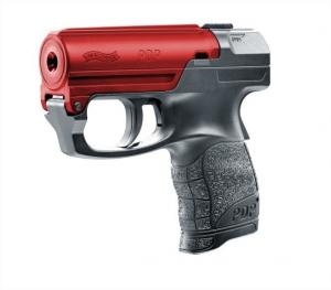 Pistola spray al peperoncino Umarex  walther pdp nera con bascula rossa