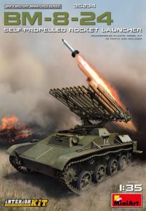 BM-8-24 SELF-PROPELLED ROCKET LAUNCHER