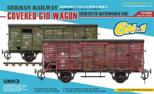 GERMAN RAILWAY COVERED G10 WAGON