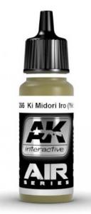 KI MIDORI IRO (YELLOW-GREEN)