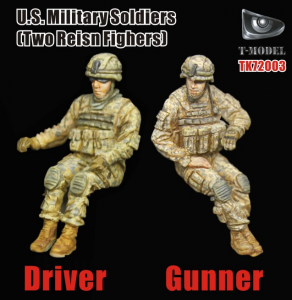 S Military Soldiers Gunner