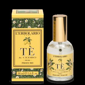 Te' & Cedro Acqua di Profumo 50 ml L' Erbolario