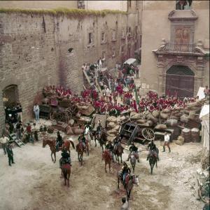 Il Gattopardo, set, 1962