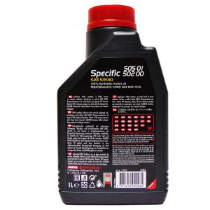 OLIO MOTORE MOTUL SPECIF 505 01-502 00 SAE 5W40 100% SINTETICO 1L