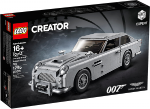 LEGO CREATOR EXPERT JAMES BOND? ASTON MARTIN DB5 10262