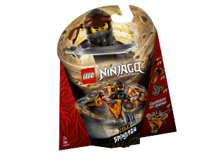 LEGO NINJAGO COLE SPINJITZU 70662