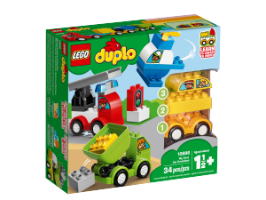 LEGO DUPLO I MIEI PRIMI VEICOLI 10886