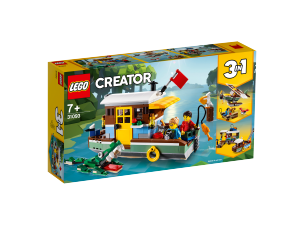 LEGO CREATOR CASA GALLEGGIANTE 31093
