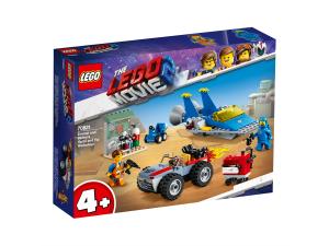 LEGO MOVIE EMMET E L'OFFICINA AGGIUSTATUTTO DI BENNY 70821