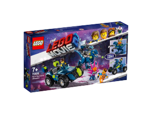 LEGO MOVIE IL FUORISTRADA REX-TREMO DI REX 70826