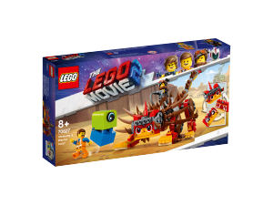LEGO MOVIE ULTRAKATTY E LUCY GUERRIERA 70827