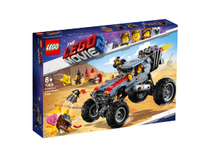 LEGO MOVIE IL BUGGY FUGGI-FUGGI DI EMMET E LUCY 70829