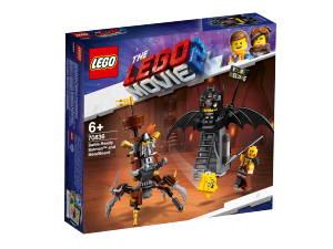LEGO MOVIE BATMAN PRONTO ALLA BATTAGLIA E BARBACCIAIO 70836