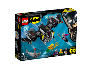LEGO NINJAGO BATSUB DI BATMAN E IL DUELLO SOTTOMARINO 76116