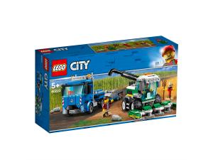 LEGO CITY TRASPORTATORE DI MIETITREBBIA 60223