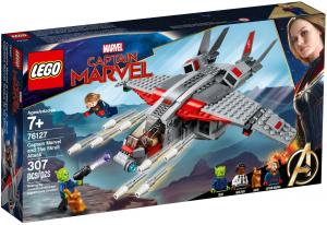 LEGO NINJAGO CAPTAIN MARVEL E L'ATTACCO DELLO SKRULL 76127