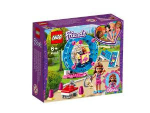 LEGO 41383 L'AREA GIOCO DEL CRICETO DI OLIVIA