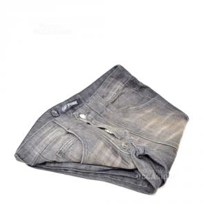 Pantalone Nero Donna Ferrè  Tg 41 Jeans