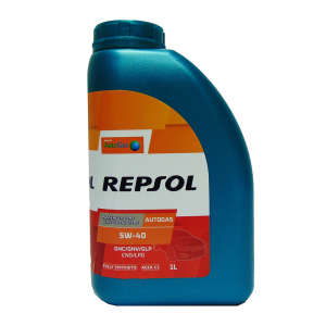 OLIO MOTORE REPSOL 5W40 AUTOGAS FULLY SYNTHETIC 1L