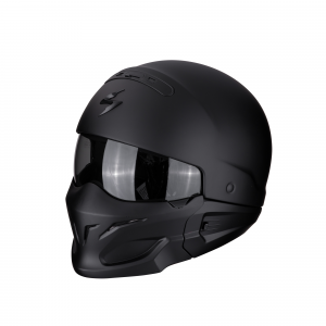 CASCO MOTO INTEGRALE/JET SCORPION EXO-COMBAT SOLID MATT BLACK