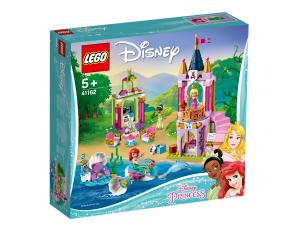 LEGO DISNEY PRINCESS I FESTEGGIAMENTI REALI DI ARIEL, AURORA E TIANA 41162