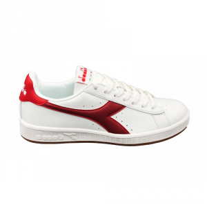 SNEAKERS DIADORA GAME P C7644 WHITE/BRICK RED