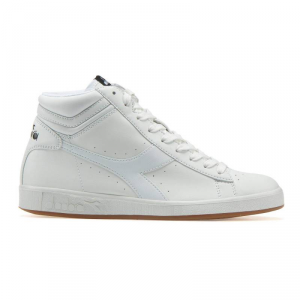 SNEAKERS DIADORA GAME P HIGH C0657 WHITE/WHITE