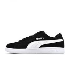 SNEAKERS PUMA SMASH V2 BLACK/WHITE/SILVER 364989 01