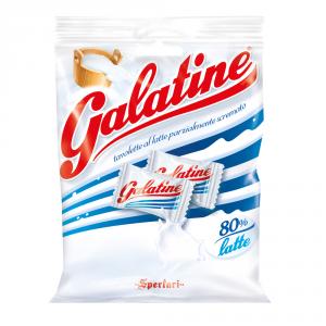 SPERLARI 30 Confezioni caramelle in busta con zucchero galatina al latte 125g