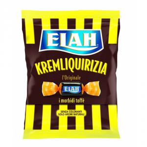 ELAH 9 Confezioni caramelle in busta con zucchero kremliquerizia 180gr