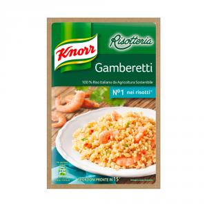 KNORR 15 Confezioni risotti pronti liofilizzati ai gamberetti 175gr