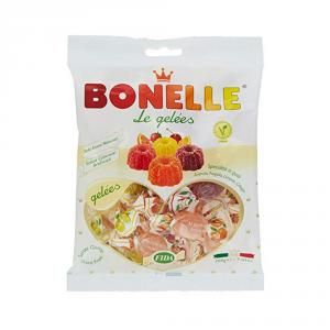 BONELLE 18 Confezioni caramelle in busta con zucchero le gelees con vari gusti 200gr