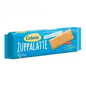 COLUSSI 24 Confezioni biscotti secchi zuppalatte 250gr senza olio di palma