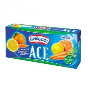 STERILGARDA 8 Confezioni nettari di frutta ace 200ml 3 pezzi