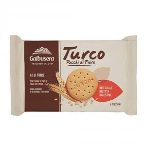 GALBUSERA 9 Confezioni biscotti frollini turco 400gr