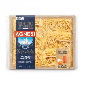 AGNESI 12 Confezioni pasta uovo tagliatelle festaiola n223 250gr