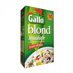 GALLO 9 Confezioni riso parboiled insalata di riso giallo