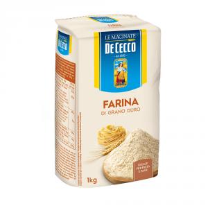 Dececco 10 Confezioni farina di grano tenero duro semola 1kg