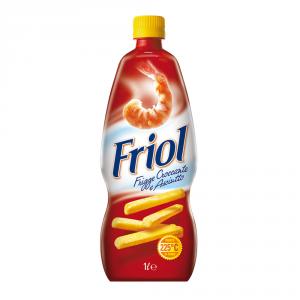 FRIOL 15 Confezioni olio di semi per fritture 1lt per friggere