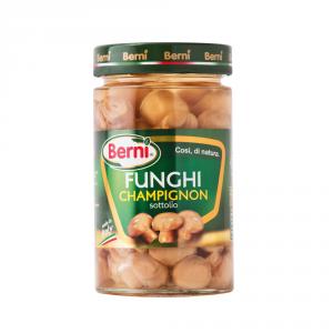 BERNI 12 Confezioni ortaggi sottoli funghi champignon 290gr