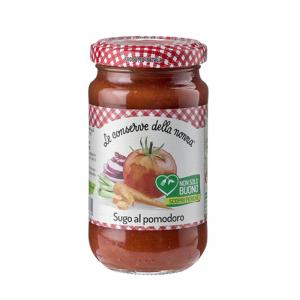 LE CONSERVE DELLA NONNA 12 Confezioni sughi e condimenti pomodoro 190gr