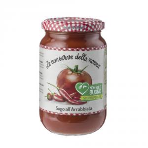 LE CONSERVE DELLA NONNA 12 Confezioni sughi e condimenti arrabbiata 190gr