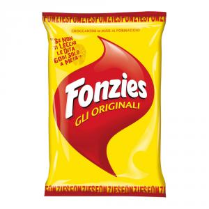 FONZIES 24 Confezioni snack salati 100gr
