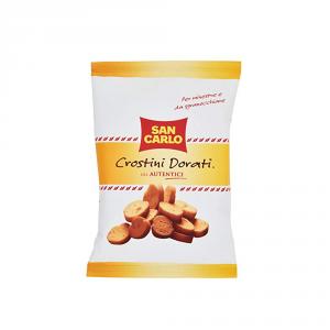 SAN CARLO 14 Confezioni sostitutivi del pane crostini dorati alla campagnola 75gr