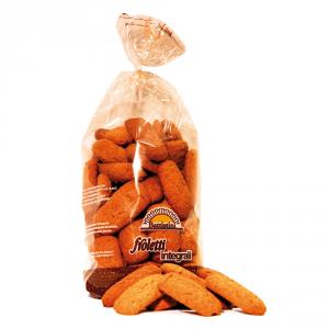 BATTISTINI 10 Confezioni biscotti integrali froletti integrali 650gr