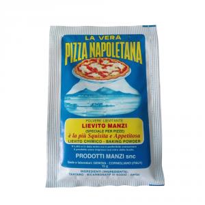 MANZI 50 Confezioni lievito amido e fecole pizza manzi